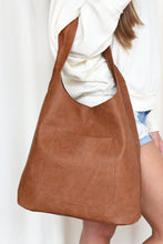 MOLLY HOBO HANDBAG -SADDLE