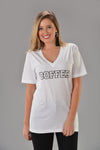 COFFEE GRAPHIC TEE - Dear Stella Boutique