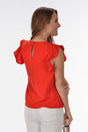 SOMEONE YOU LOVE TOP -RED - Dear Stella Boutique