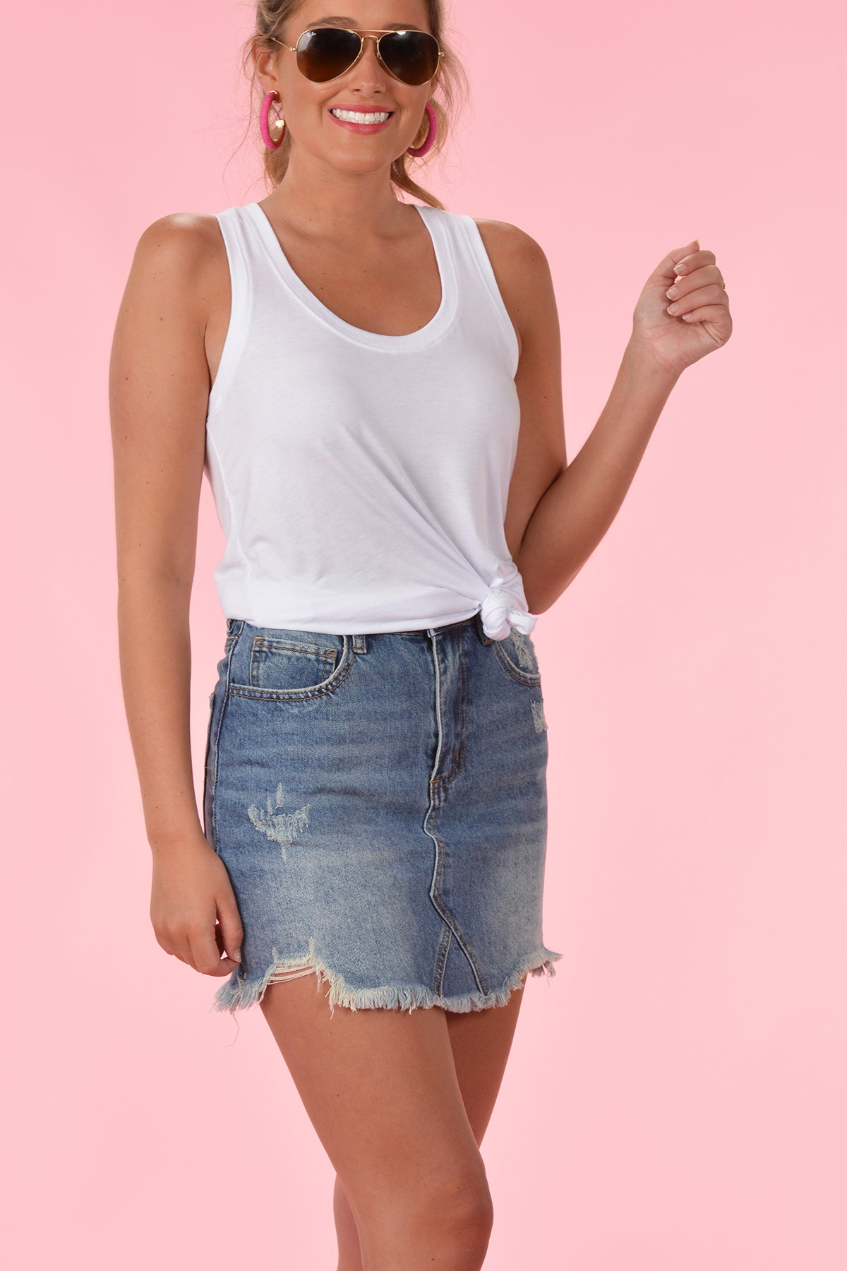 BUDDY LOVE SHARON DENIM SKIRT