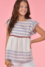 THML SO ANGELIC TOP - BLUE