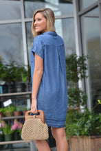 RUNNING AWAY CHAMBRAY DRESS