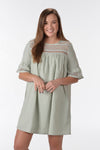 SWEET INTENTIONS DRESS -GREEN - Dear Stella Boutique