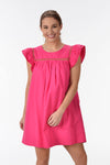 MADE OF DREAMS DRESS -PINK - Dear Stella Boutique