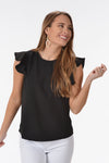 SOMEONE YOU LOVE TOP -BLACK - Dear Stella Boutique