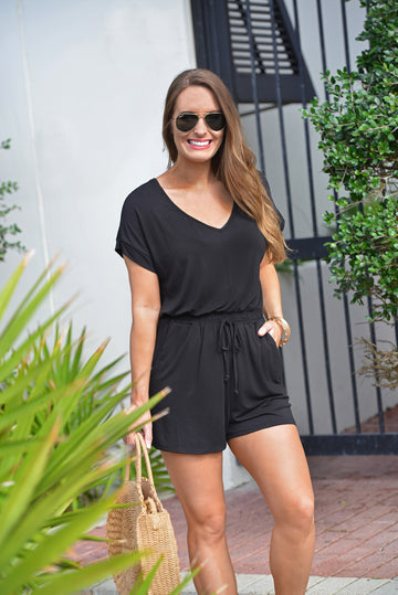 Z SUPPLY BLAIRE ROMPER - Dear Stella Boutique