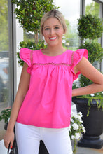 GLAM GIRL TOP - PINK