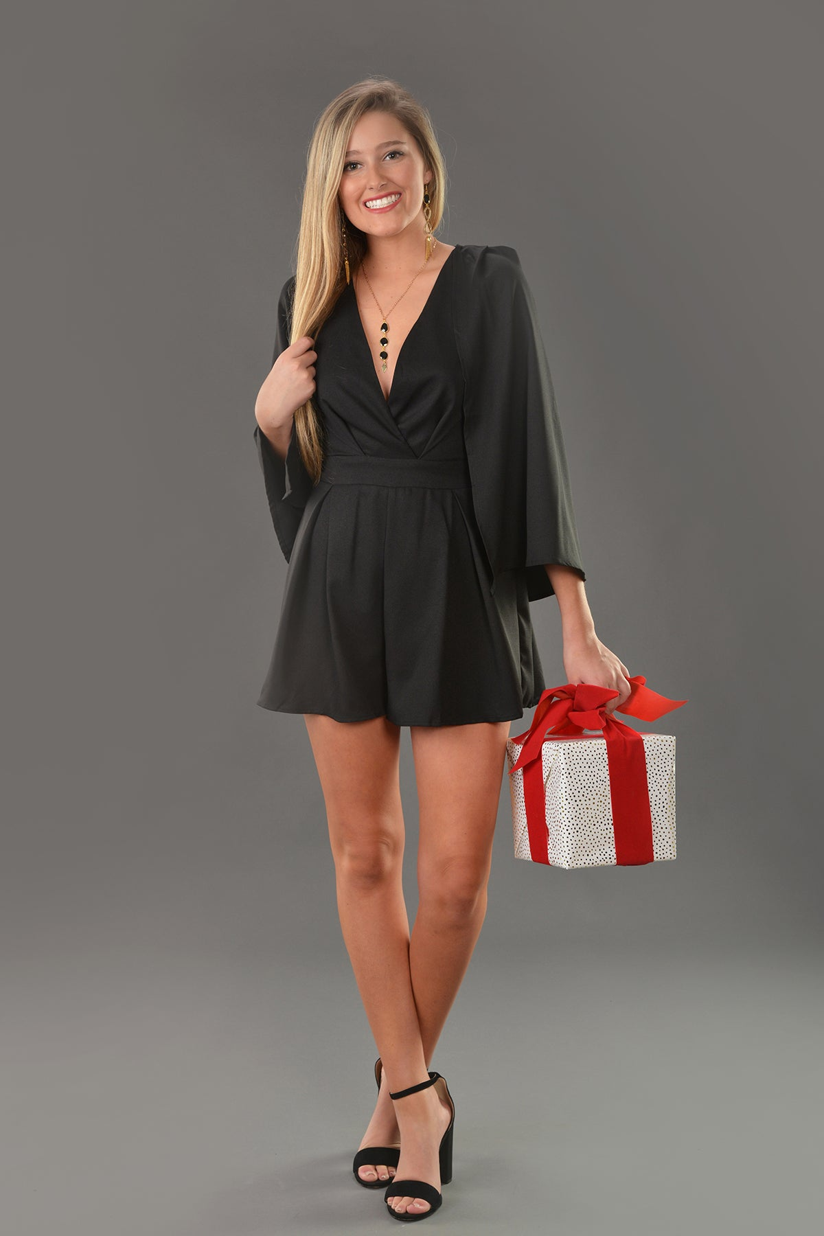 ON TOP OF THE WORLD ROMPER