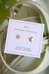 JAX KELLY STAR SUN & MOON STUDS