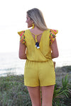 THML FALLING AWAY ROMPER - Dear Stella Boutique