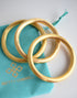 BETTY CARRE GOLD BANGLE SET