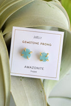JAX KELLY AMAZONITE GEMSTONE STUDS