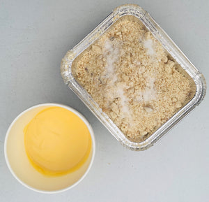Chefs Crumble with Custard