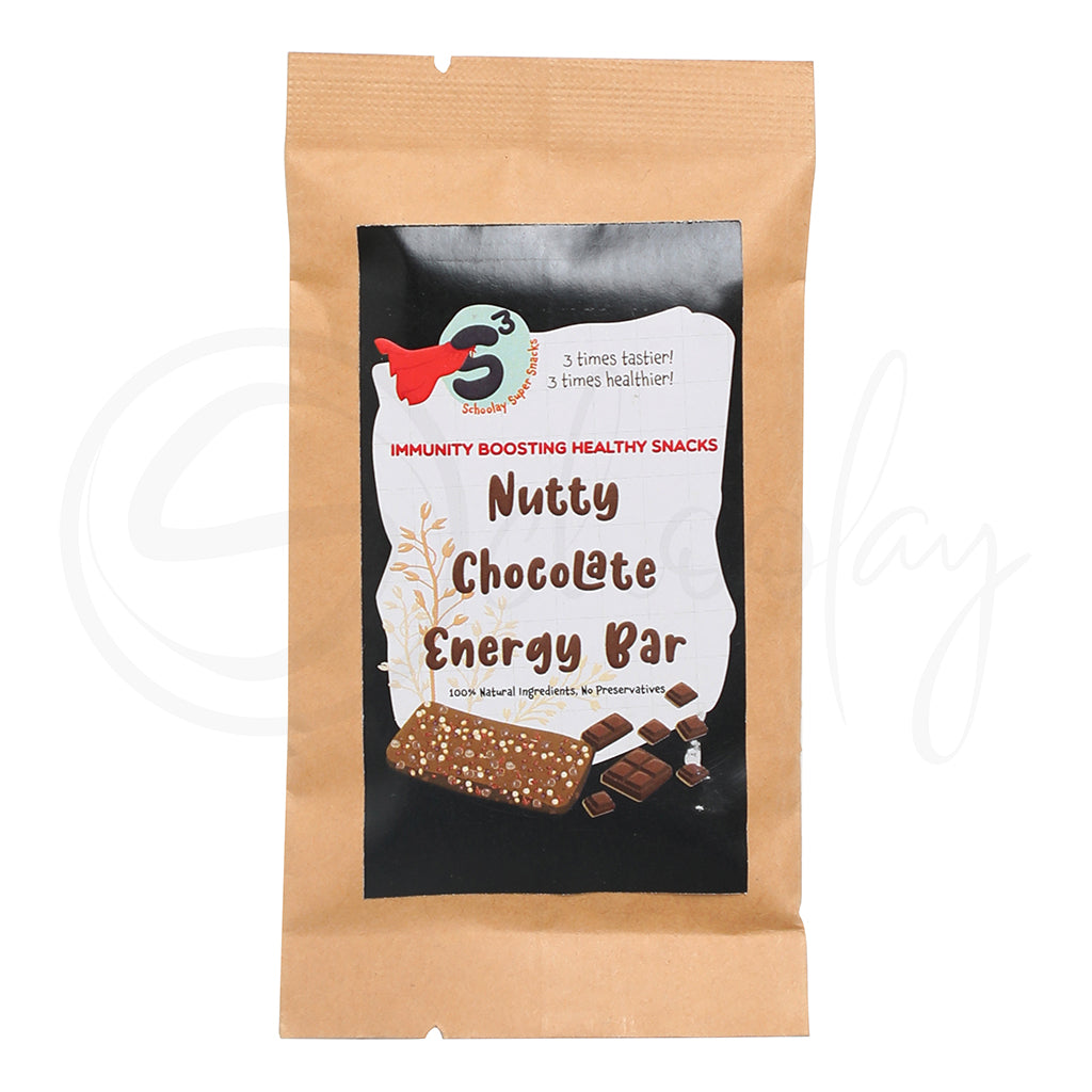 Nutty Chocolate Energy Bar