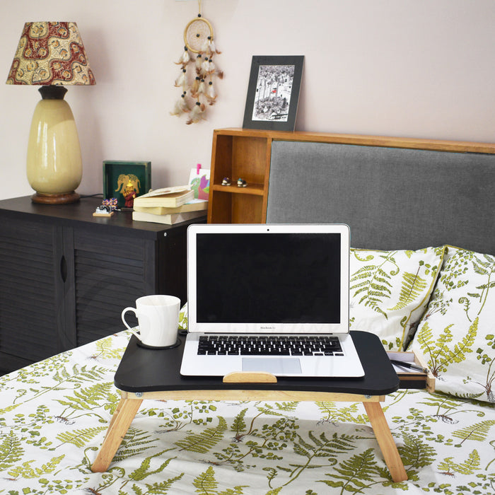 Multi Purpose Foldable Wooden Laptop Table (WFH/LFH)