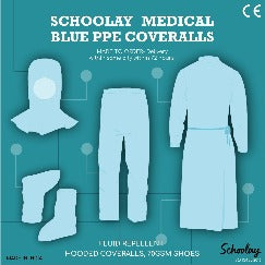 PPE Gown, Head cover & Bottom Set (Only For Medical Use)