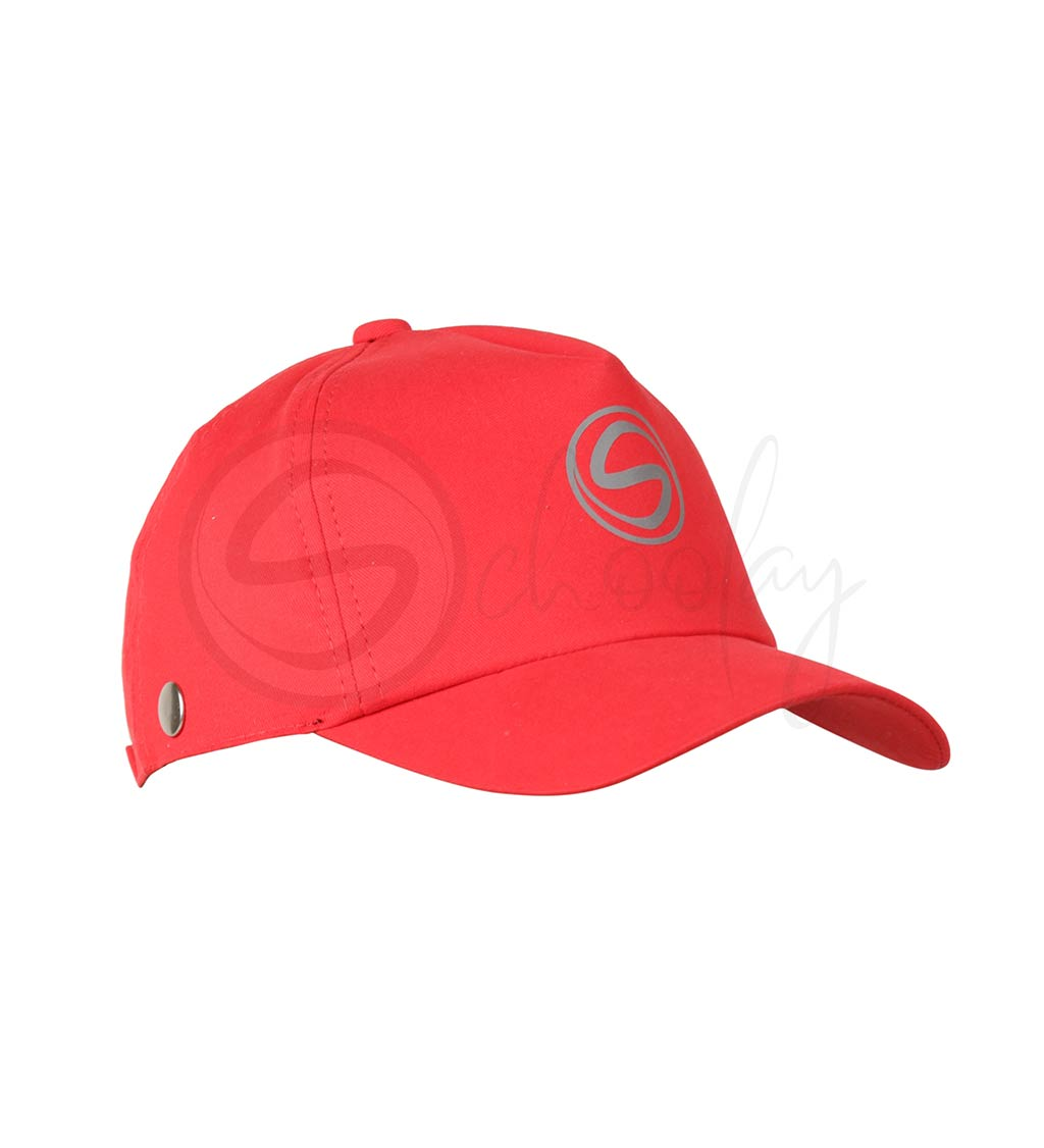 Schoolay Defenders- Red Classic Detachable Cap shield