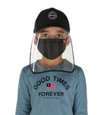 Schoolay Defenders- Sporty Detachable Cap Shield With Kids mask