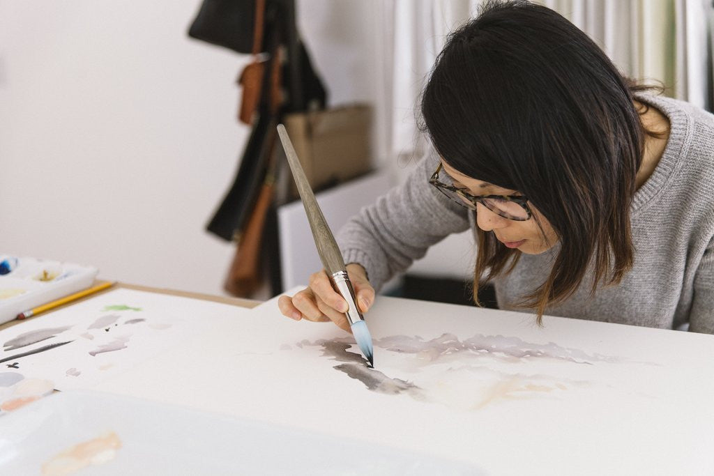 V&O Interviews: Satsuki Shibuya, painter + creative thinker