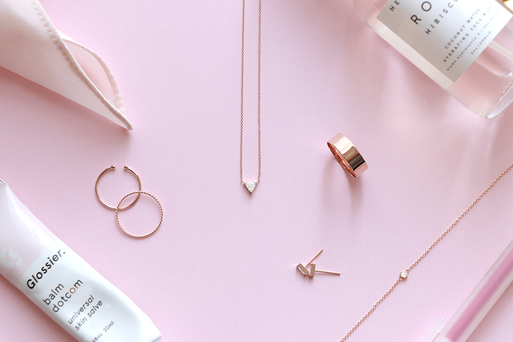 rose gold gift guide