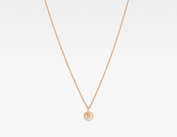 14k Rose Gold Personalized Charm Necklace