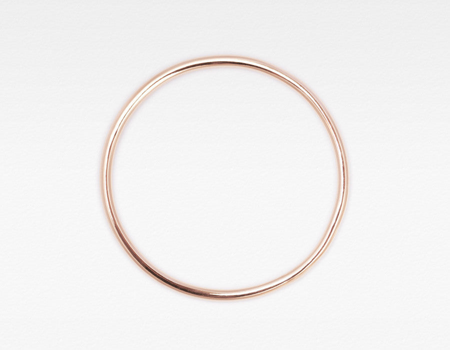 Rose Gold Skinny Stacking Ring