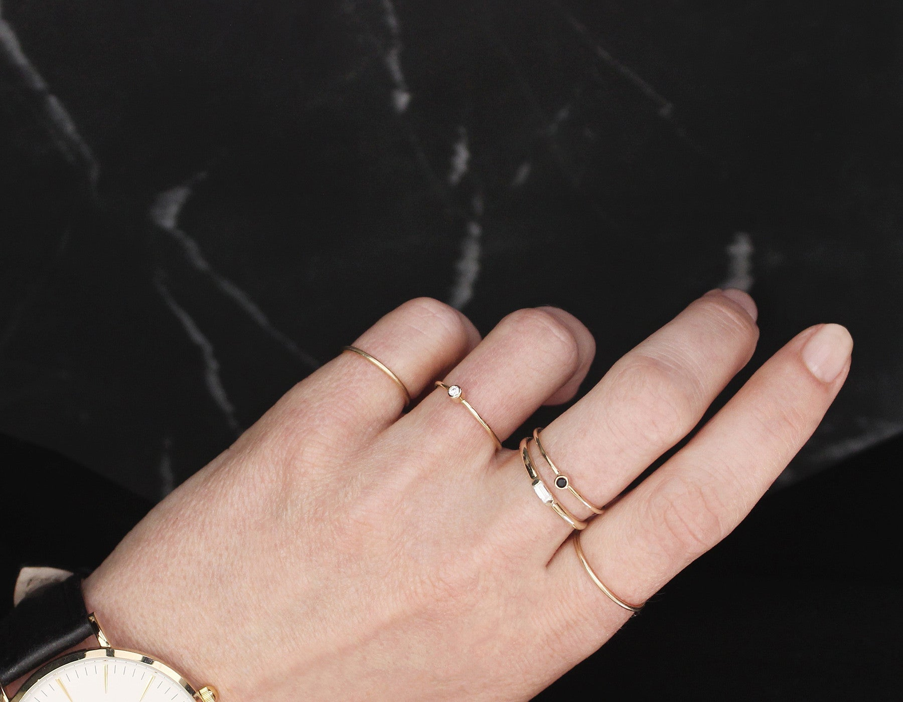 Dainty Stacking Rings
