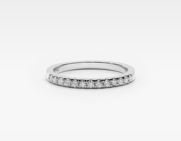 Substantial Diamond Ring in White Gold