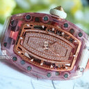 Richard Mille LADIES PINK SAPPHIRE DIAMOND PAVE LIP