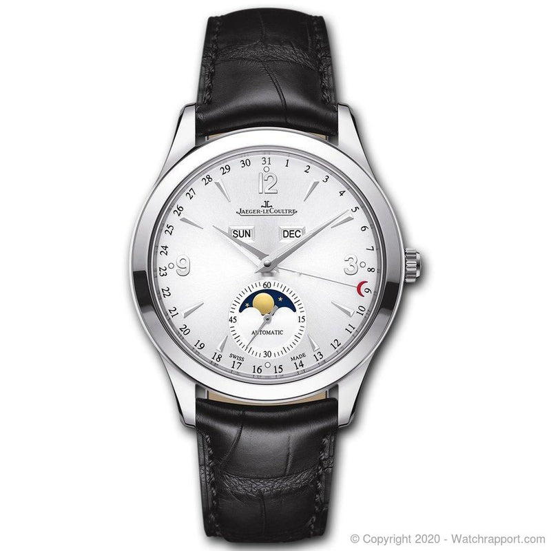 Jaeger-LeCoultre Master Calendar Automatic Moonphase Steel Silver Dial 39mm - Watch Rapport