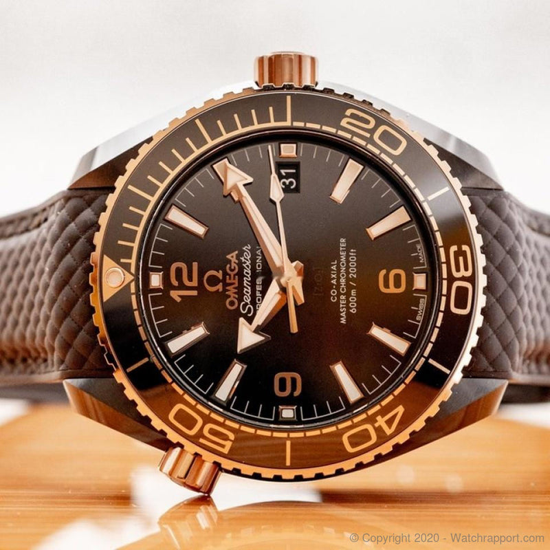 Omega Planet Ocean 600m Co-Axial Master Chronometer 39.5mm - 215.62.40.20.13.001 - Watch Rapport
