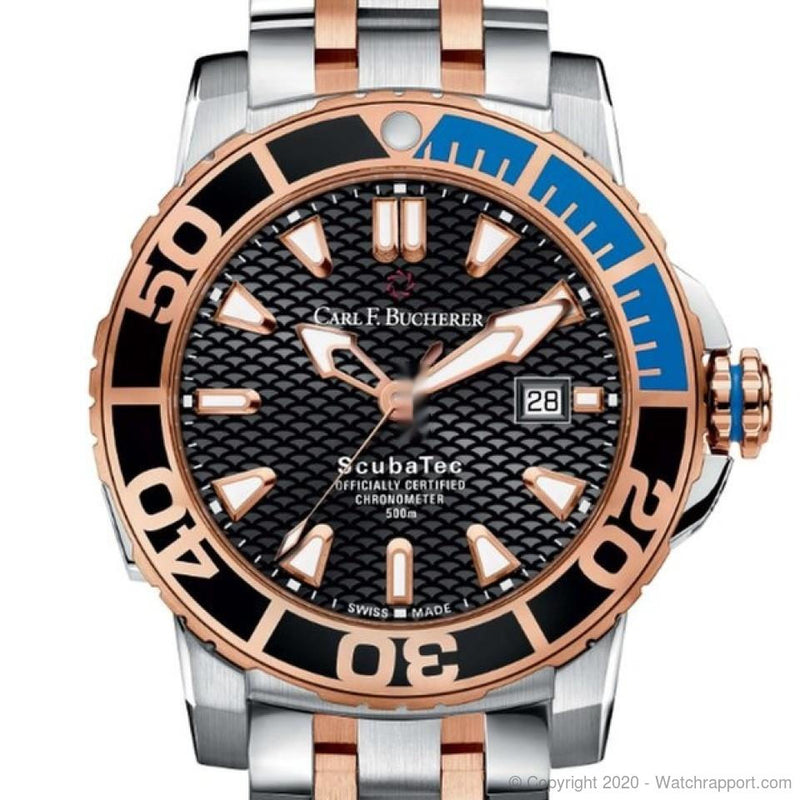 Carl F. Bucherer PATRAVI ScubaTec - Watch Rapport