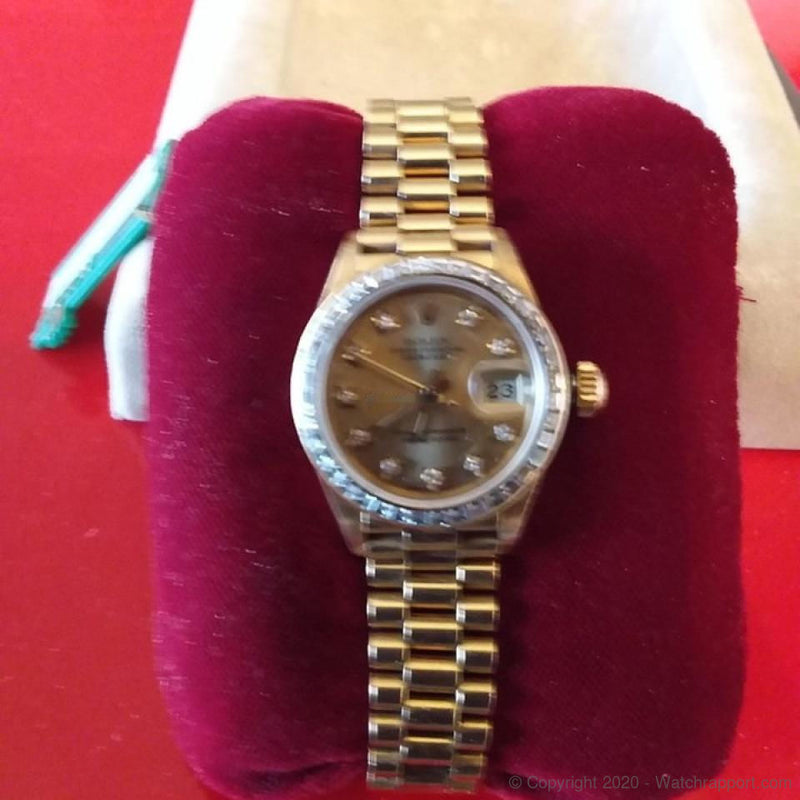 Rolex Lady-Datejust - Watch Rapport