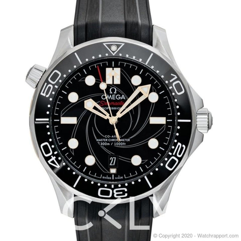 Omega Seamaster Co-Axial Master Chronometer 42 mm James Bond Autom - Watch Rapport