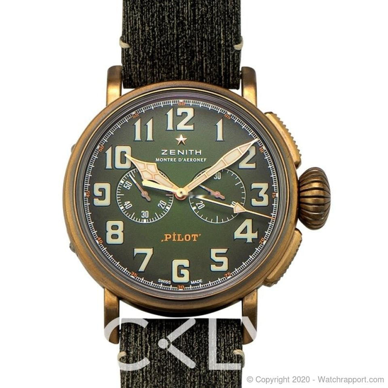 Zenith 29.2430.4069/63.1001 - 29.2430.4069/63.1001 - Watch Rapport