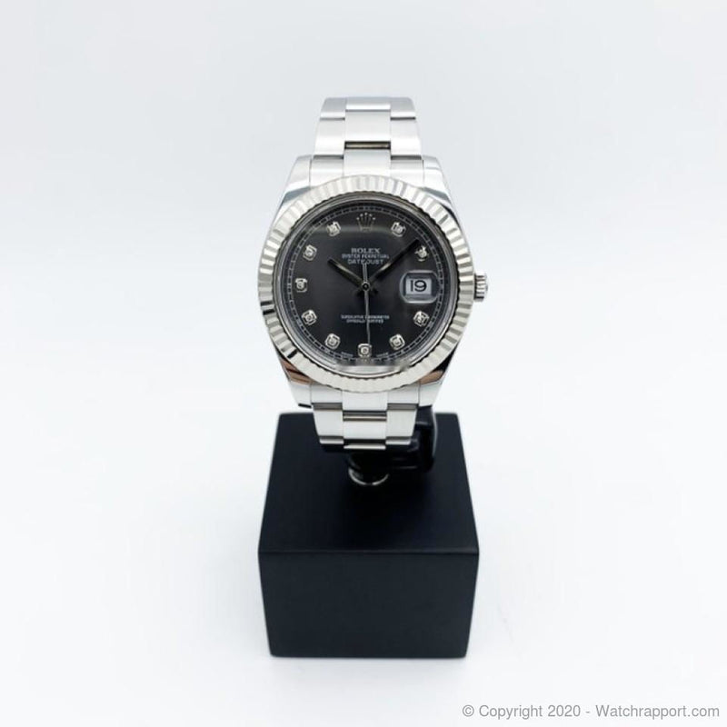 Rolex Datejust II Diamond - Watch Rapport