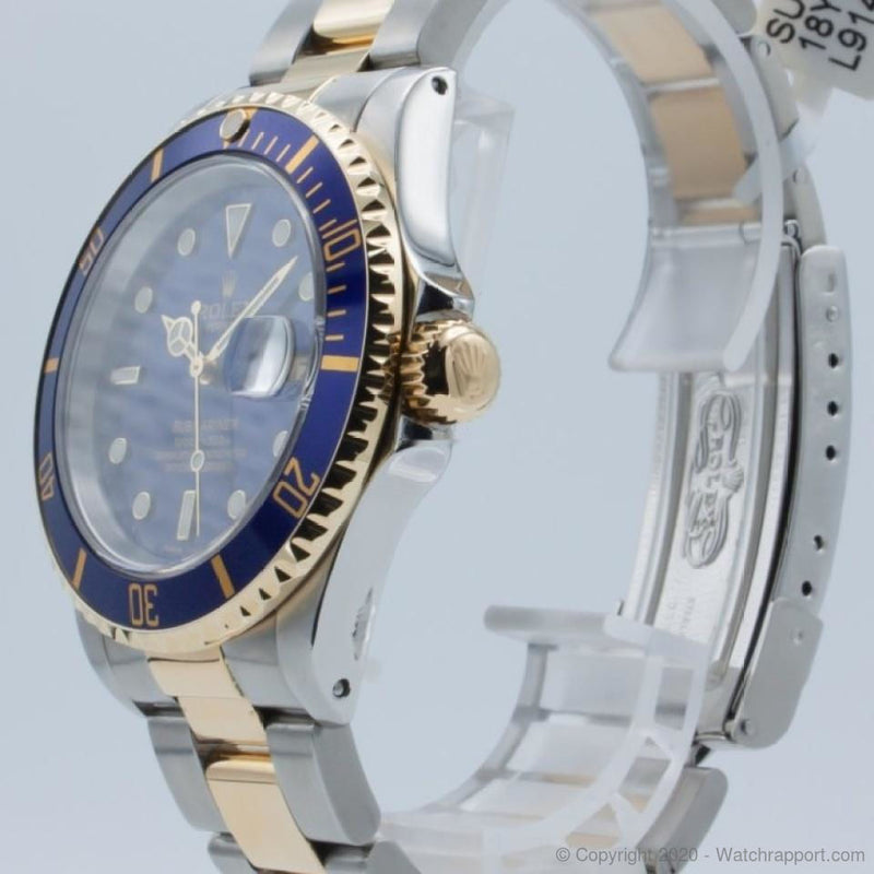 Rolex Submariner Date Blue Dial L Serial 1989 - Watch Rapport