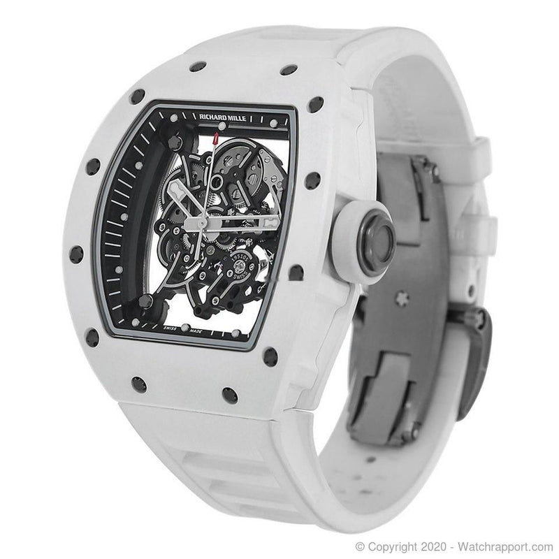 Richard Mille Bubba Watson White Ceramic Watch RM055