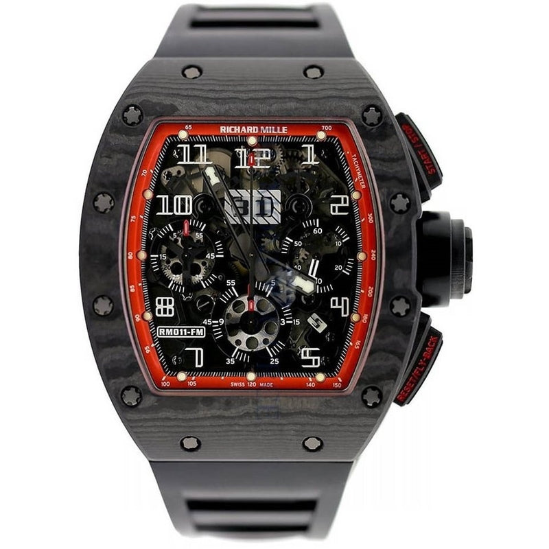 Richard Mille RM 011 NTPT Carbon Black Night