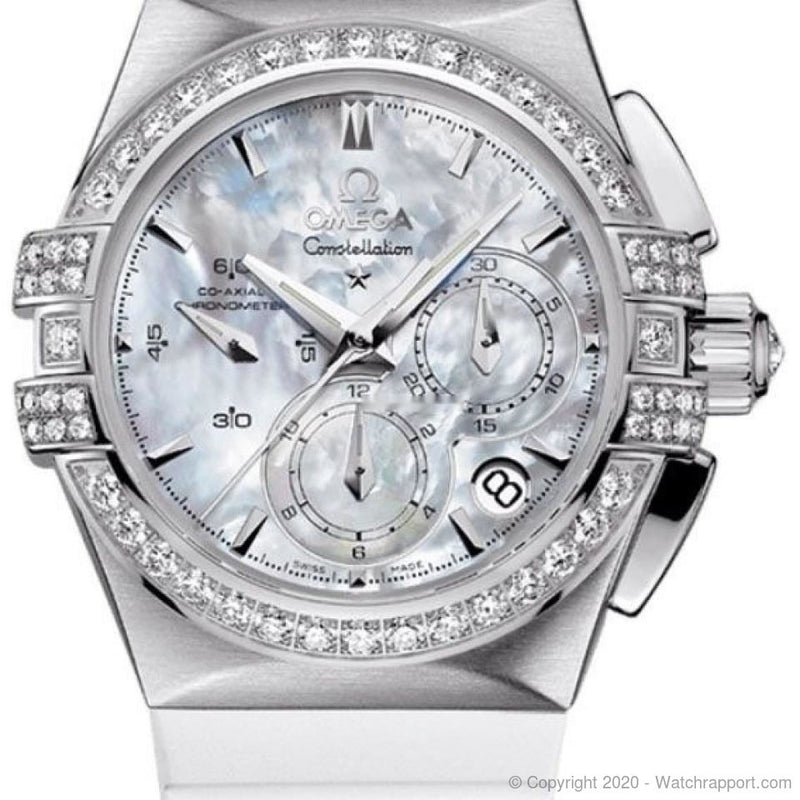 Omega Constellation Double Eagle Chronograph Women's Watch 121.17.35.50.05.001 - Watch Rapport