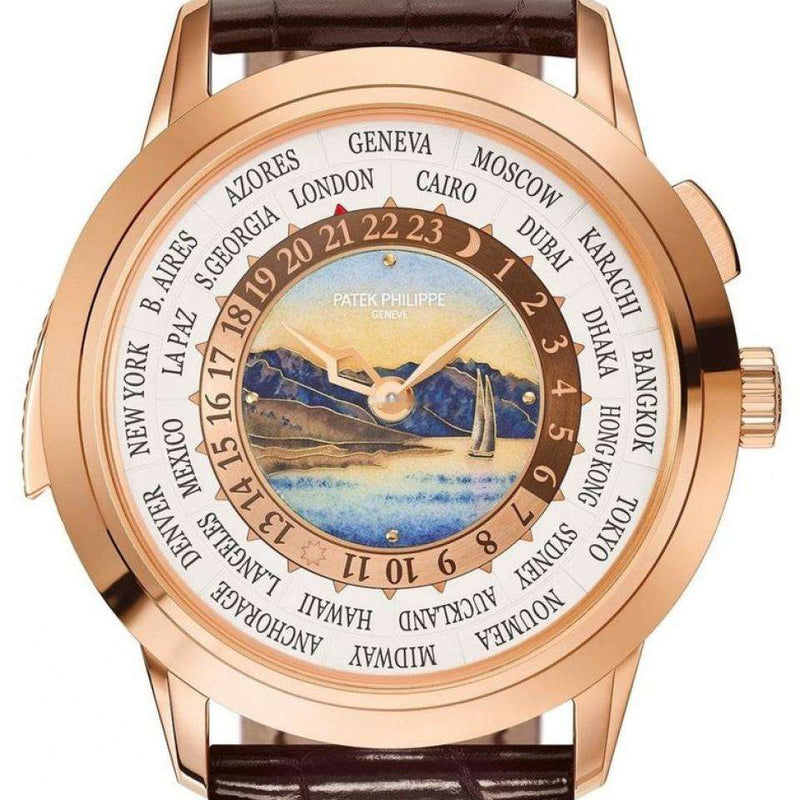Patek Philippe Grand Complications World Time Minute Repeater 5531R