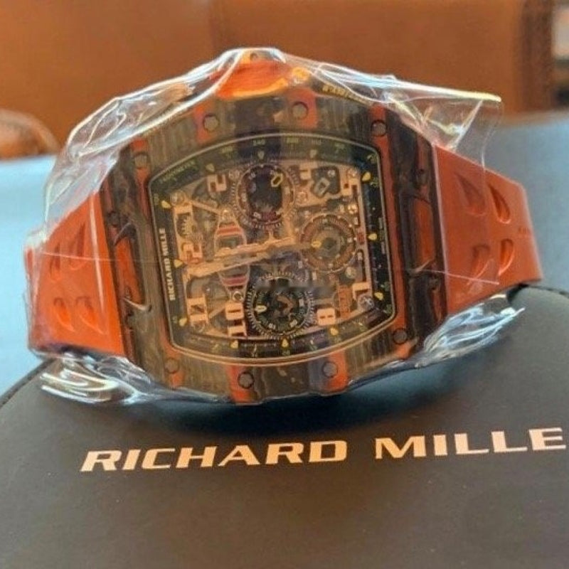 Richard Mille Automatic Winding Flyback Chronograph McLaren RM11-03