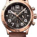 Breguet Brequet Type XX - XXI - XXII 3817 18K Rose Gold Men's Watch 3817BR / Z2 / 3ZU