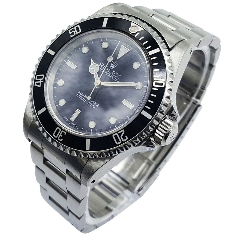 Rolex Submariner No Date 14060 Automatic Black Dial