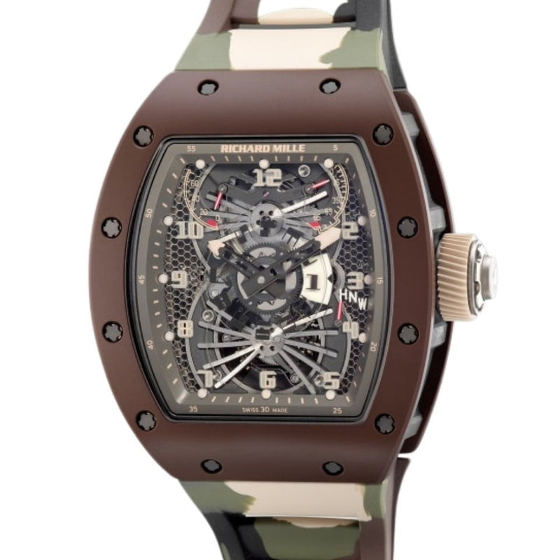 Richard Mille RM022 Aerodyne Dual Time Zone Camouflage Limited to 10pcs Worldwide