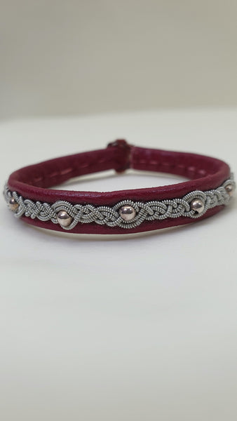 REINDEER LEATHER BRACELET UNISEX