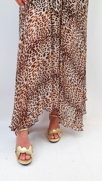 BEC + BRIDGE MAXI KITTY KAT DRESS