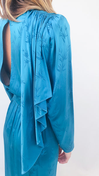RONNY KOBO JADE TEAL DRESS