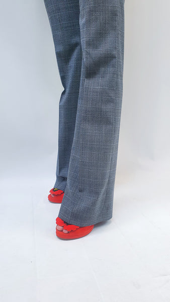 TRUE ROYAL PAT PRINCE OF WALES TROUSERS