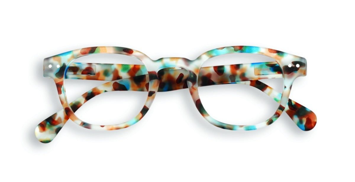 IZIPIZI KIDS SCREEN GLASSES #C GREEN TORTOISE